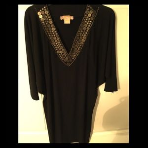 Michael Kors Dolman Sleeve Jersey Dress